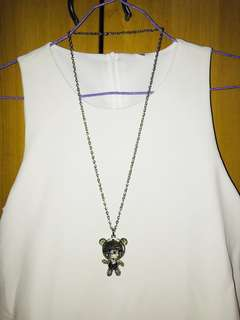 Long Bear Necklace