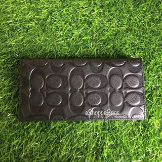 Coach Large Leather Wallet