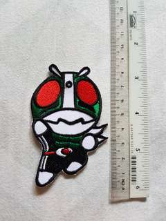 Kamen Rider Iron On Patch