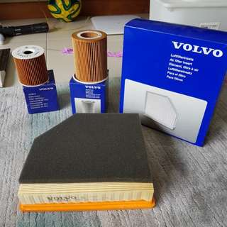 Volvo Air filter , oil filter, filter catridge