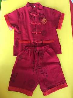 Traditional Chinese Costume cny romper