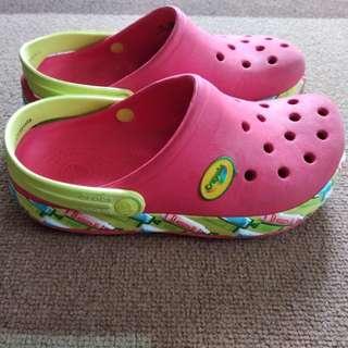 Authentic Crocs c12-13