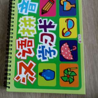 汉语拼音学习卡