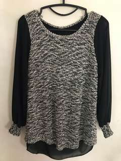 Long sleeve blouse from Korea