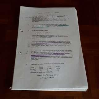 NUS CM1131 2008 study material