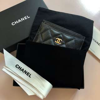 Chanel Goatskin Card Holder
