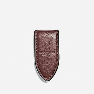 Coach men's money clip 減價期限