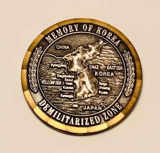 Korea Demilitarized  Zone (DMZ) Ref Magnet