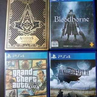 PS4 遊戲 請自行出價