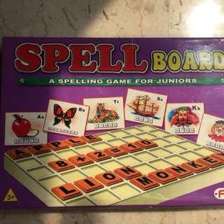 Spell board