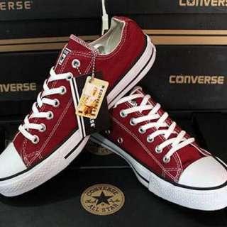 Converse Merah Maroon