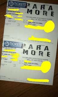 Paramore Gen Ad Tickets