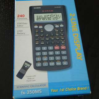 Casio Scientific Calculator (Model: fx-350MS)