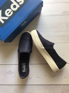 Keds dark blue original preloved 99% condition plus box