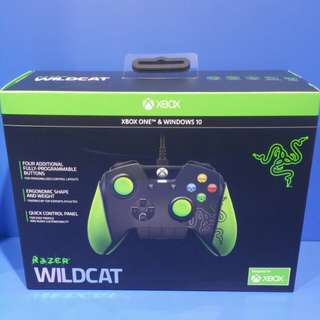 Razer wildcat controller for xbox one & windows 10