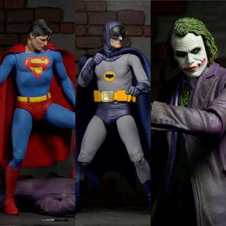 DC Superman Batman Joker Action Figure