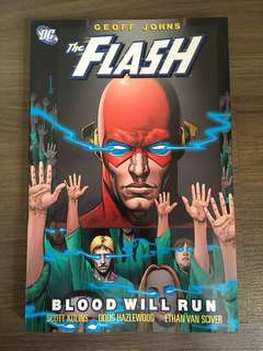 DC comics The Flash- Blood Will Run