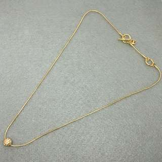 Michael Kors Sample Necklace 金色閃石波波頸鏈