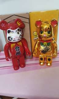 Bear Brick Gold & Daruma