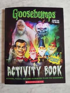 Goosbumps Activity Book