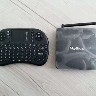 My Rica V582 Android Box 連keyboard pad