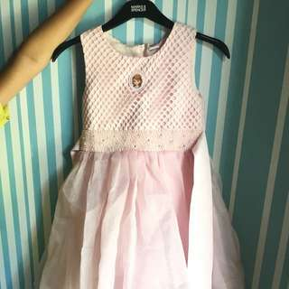 Disney Sofia the first pink long gown