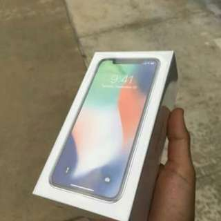Iphone x new 64gb original singapure 1 thn