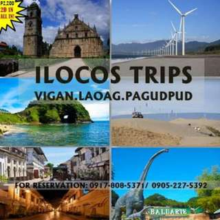 Ilocos Tour - march 30-31, 2018
