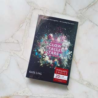BN WRAPPED The Glow Of Fallen Stars by Kate Ling