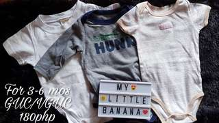Baby boy set for 3-6 mos