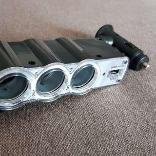 Car USB Cigarette Charger