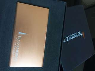 Power bank- rose colour TransAmerica
