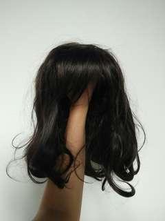 Hair Wig - Natural Black