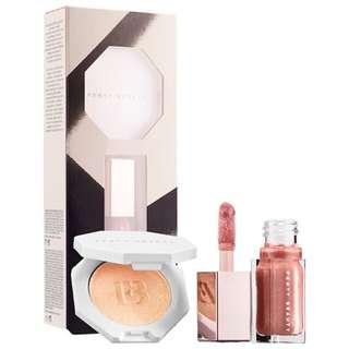 TERBATAS!! Fenty beauty bomb mini lip & face set
