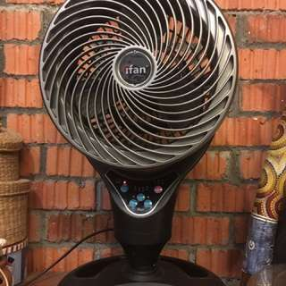 """iFan 12"""" table top fan air circulator (approx. 57cm height)"""