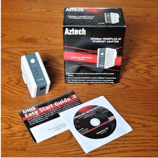 Aztech Homeplug 200mbps HL109E