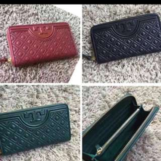 Tory Burch Fleming zip wallet