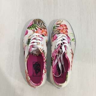 VANS floral patterned shoes