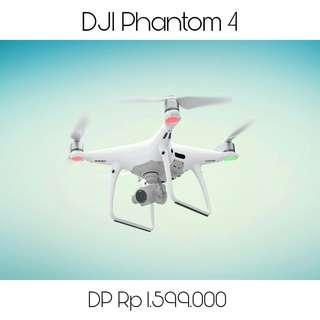 Kredit Drone Dji Phantom 4, Promo Tanpa Kartu Kredit