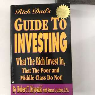 Robert T Kiyosaki - guide to investing