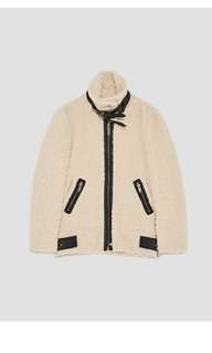 ZARA Teddy Coat