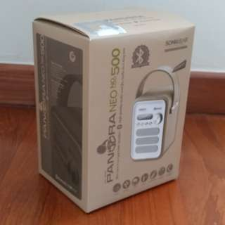 Portable Bluetooth Speaker (SonicGear Pandora NEO 500 - green)