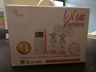 Premium Diva Evelove Double Breastpump
