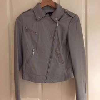 Leather Jacket (Saba Size 6)