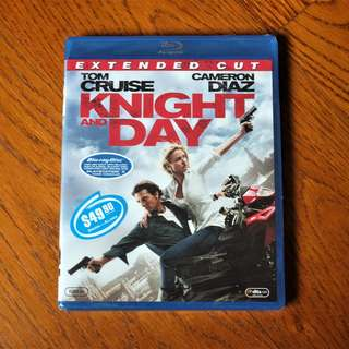 Knight & Day Extended Cut Blu-Ray (BNIB)