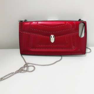 Bulgari style IPhone case 8+紅色機套機殻包順豐