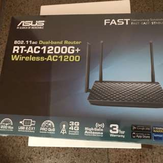 WTS: Asus Dual-Band Wireless Router