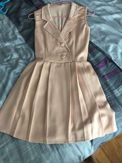 Smart collared dress