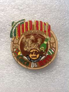 Hard Rock Cafe Pins - SAN FRANCISCO HOT 2014 CINCO DE MAYO AZTEC GOD PIN!