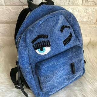 Chiara Ferragni Small Backpack Denim